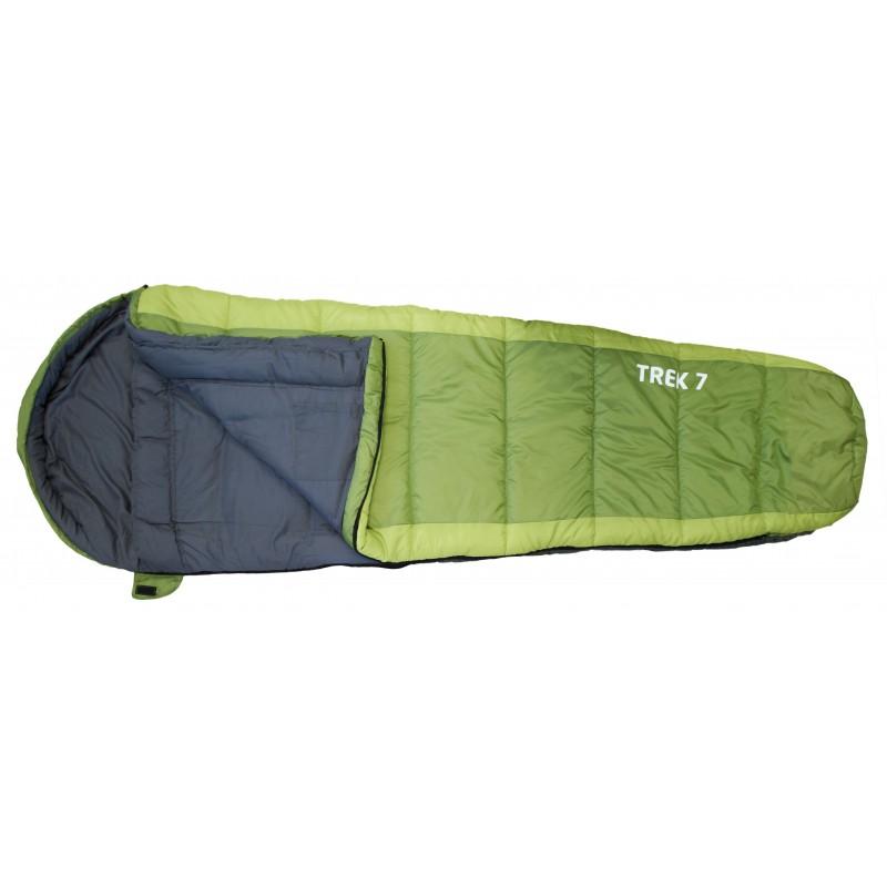 Trek 7 - sac de couchage - vert
