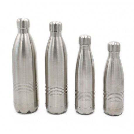 ISOTHERME TRADITION - bouteille isotherme - Acier Inox