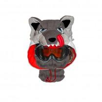 Capuche / Tour de cou polaire Loup