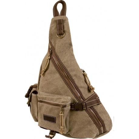 BESACE RETRO - sac petit portage - beige