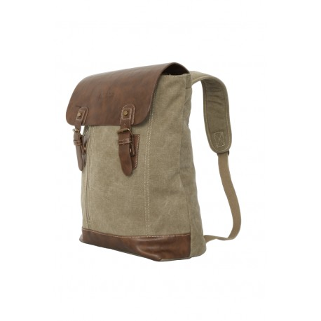 SAC RETRO RABAT - sac à dos - marron / beige