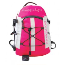 MONTAGNE KID 10 - sac à dos enfants - rose / blanc